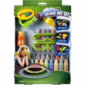 Crayola 3D Deluxe Art Set Washable Outdoor