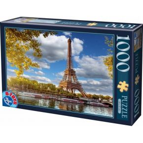 D-Toys Παζλ 1000 τεμ. Eiffel Tower Paris