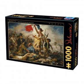 D-Toys Παζλ 1000 τεμ. Eugene Delacroix Liberty Leading The People