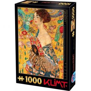 D-Toys Παζλ 1000 τεμ. Klimt Lady With A Fan