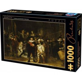 D-Toys Παζλ 1000 τεμ. Rembrandt The Night Watch