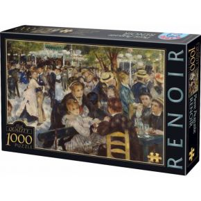D-Toys Παζλ 1000 τεμ. Renoir A Ball At The Moulin De La Galette
