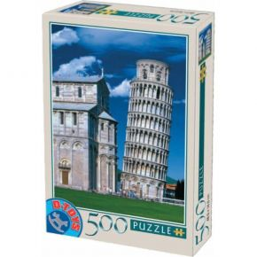 D-Toys Παζλ 500 τεμ. Tower Of Pisa