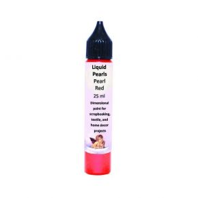 Daily Art Gel Liquid Pearls Pearl Red 25ml