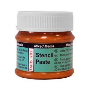 Daily Art Mixed Media Stencil Paste Copper 50ml