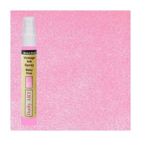 Daily Art Mixed Media Vintage Spray Baby Pink 30ml