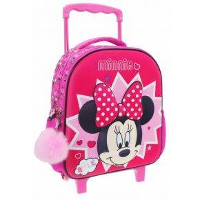 Diakakis Τσάντα Trolley Νηπίου Minnie Mouse 3D MN22