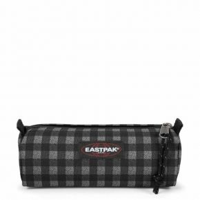 Eastpak Κασετίνα Βαρελάκι Benchmark Checksange Black