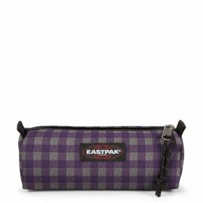 Eastpak Κασετίνα Βαρελάκι Benchmark Checksange Purple