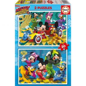 Educa Παζλ 2x20 τεμ. Mickey Roadster Racers