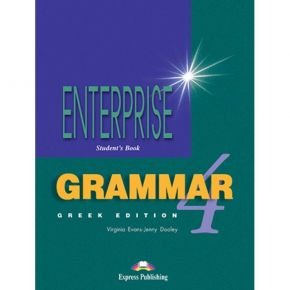 Enterprise 4 Intermediate - Grammar Book (Greek Edition)
