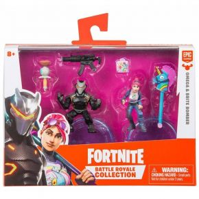 Epic Games Fortnite Σετ Μινιατούρες Battle Royal Collection - Omega & Brite Bomber