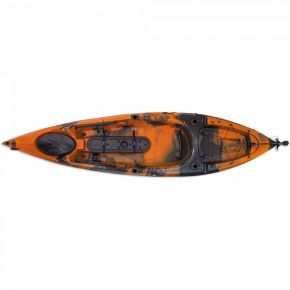 Escape Kayak Sit On Dace Pro Angler 10ft Πορτοκαλί/Μαύρο