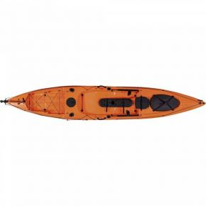 Escape Kayak Sit On Dace Pro Angler 14ft Πορτοκαλί