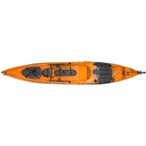 Escape Kayak Sit On Dace Pro Angler 14ft Πορτοκαλί/Μαύρο