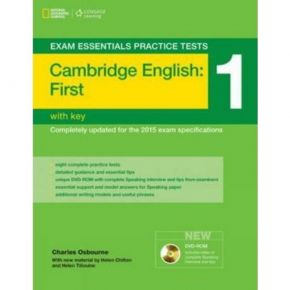 Exam Essentials Practice Tests Cambridge English First 1 With Key - Student's Book (Βιβλίο Μαθητή+Λύσεις)