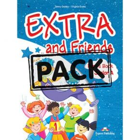 Extra & Friends Junior A - Pupil's Pack (Pupil's Book+Alphabet Book+CD+i-eBook)