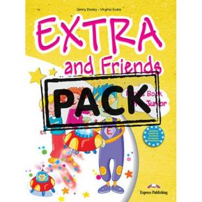 Extra & Friends Pre Junior - Pupil's Pack (Pupil's Book+Activity Book+CD+i-eBook)