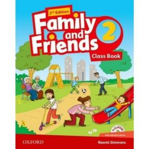 Family And Friends 2 - Class Book (Βιβλίο Μαθητή+CD)