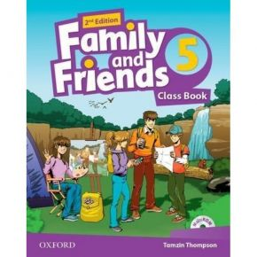 Family And Friends 5 - Class Book (Βιβλίο Μαθητή+CD)