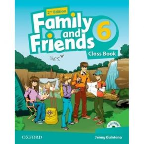 Family And Friends 6 - Class Book (Βιβλίο Μαθητή+CD)