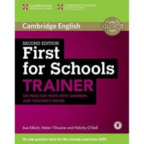 First For Schools Trainer - Student's Book (With Answers+Online Audio CD+Teacher's Notes)