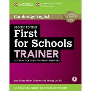 First For Schools Trainer - Student's Book (Without Answers)