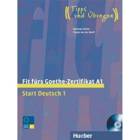 Fit Furs Goethe-Zertifikat A1 Start Deutsch 1 Kursbuch (+CD)