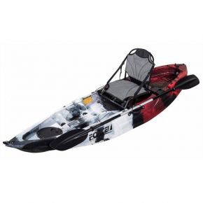 Force Fishing Kayak Sit On Andara SOT FULL Κόκκινο