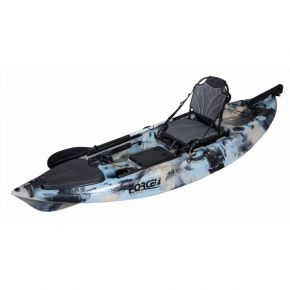 Force Fishing Kayak Sit Οn Marlin SOT Full Μπλε Παραλλαγής