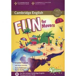 Fun For Movers - Student's Book (Βιβλίο Μαθητή+Audio CD)