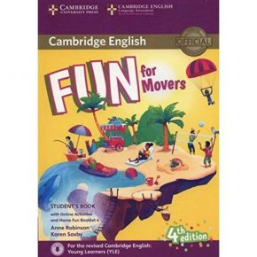 Fun For Movers - Student's Book (Βιβλίο Μαθητή+Home Fun Booklet)