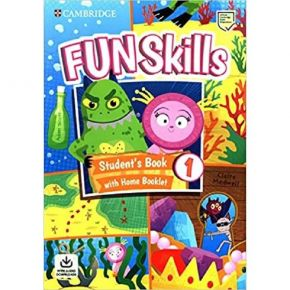 Fun Skills 1 - Student's Book (With Home Booklet And Downloadable Audio)