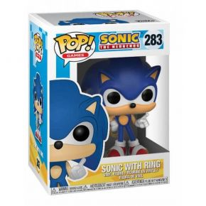 Funko Pop! Vinyl Figure Games 283 - Sonic With Ring