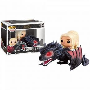 Funko Pop! Vinyl Figure Movies 15 Game Of Thrones - Daenerys & Drogon