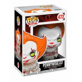 Funko Pop! Vinyl Figure Movies 472 It - Pennywise With Boat