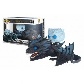 Funko Pop! Vinyl Figure Movies 58 Game Of Thrones - Night King On Dragon