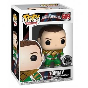 Funko Pop! Vinyl Figure Television 669 Power Rangers - Green Ranger (No Helmet)