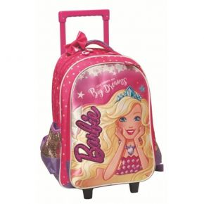 GIM Σακίδιο Trolley Barbie Little Princess With Big Dreams