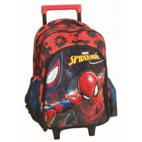 GIM Σακίδιο Trolley Spiderman Black