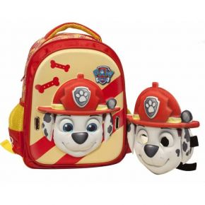 GIM Τσάντα Πλάτης Νηπίου Paw Patrol Ready For Action Red Mask