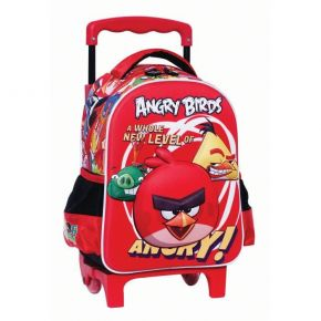 GIM Τσάντα Trolley Νηπίου Angry Birds 3D A Whole New Level