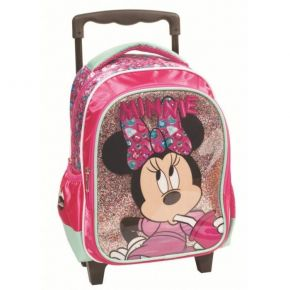 GIM Τσάντα Trolley Νηπίου Minnie Mouse Sparkle Is My Favourite Colour