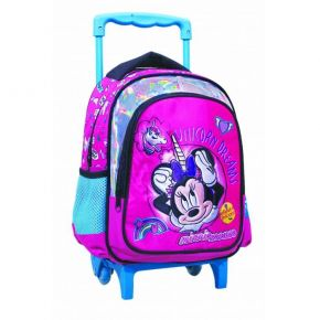 GIM Τσάντα Trolley Νηπίου Minnie Mouse Unicorn