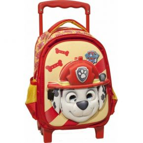 GIM Τσάντα Trolley Νηπίου Paw Patrol Ready For Action Red Mask