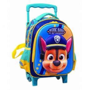 GIM Τσάντα Trolley Νηπίου Paw Patrol Work Hard Play Harder Blue Mask