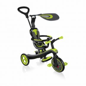 Globber Τρίκυκλο Trike Explorer 4 In 1 - Lime Green
