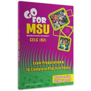 Go For MSU CELC B2 10 Practice Tests
