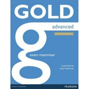 Gold Advanced Exam Maximiser (+Online Audio)