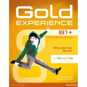 Gold Experience B1+ Student's Book (Βιβλίο Μαθητή+DVD+My English Lab)